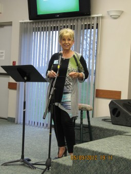 Ruth teaching Woman of Wisdom May 2012