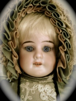 Antique doll face